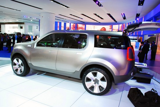 Ford Explorer America Concept Detroit