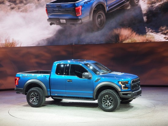 Ford F-150 Raptor Detroit