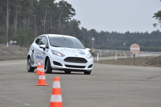 Ford Fiesta-Based eWheelDrive