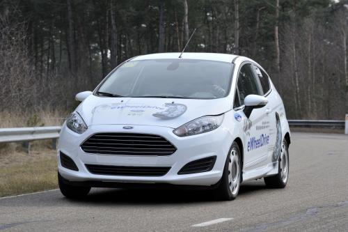 Ford Fiesta на основе eWheelDrive, созданные в сотрудничестве с Schaeffler