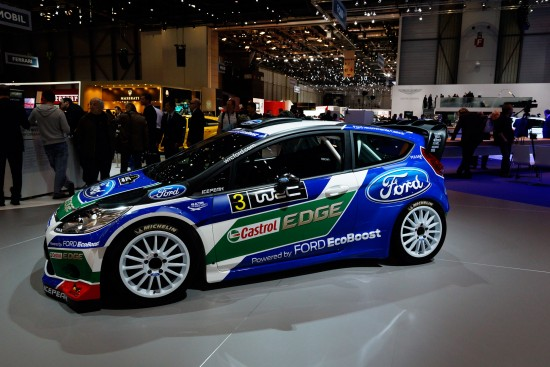 Ford Fiesta Rally Geneva