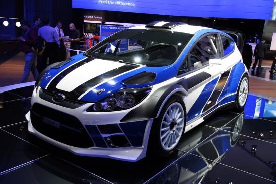 Ford Fiesta rally Paris