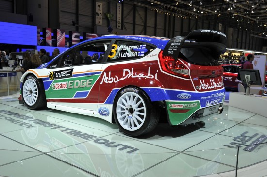 Ford Fiesta RS WRC Geneva