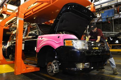 Новый Ford Flex rolls off line в Oakville Assembly