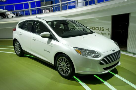 Ford Focus EV Detroit