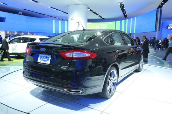 Ford Fusion EcoBoost Detroit