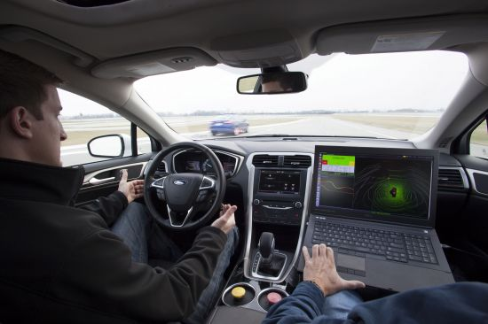 Ford Fusion Hybrid Automated Vehicle