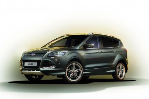 Ford Kuga Titanium X Sport Делает Дебют