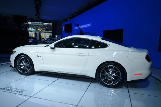 Ford Mustang 50 Year Limited Edition New York
