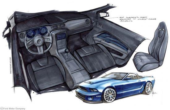Ford Mustang at  SEMA