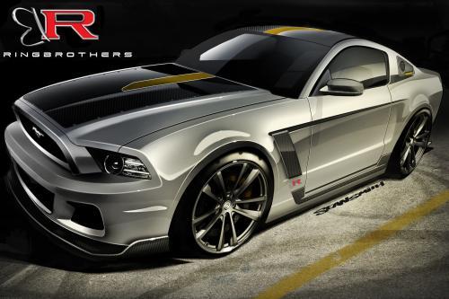 Ford Mustang на SEMA 2012