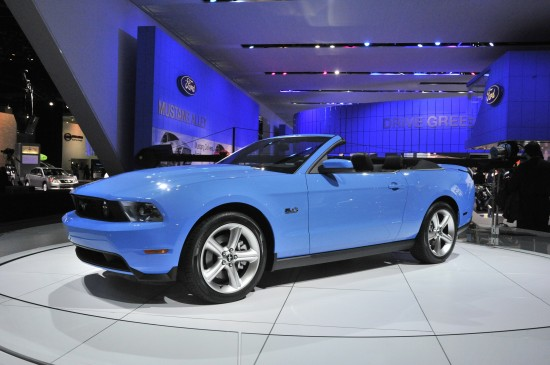 Ford Mustang Detroit