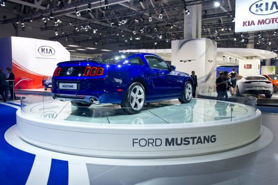Ford Mustang Moscow