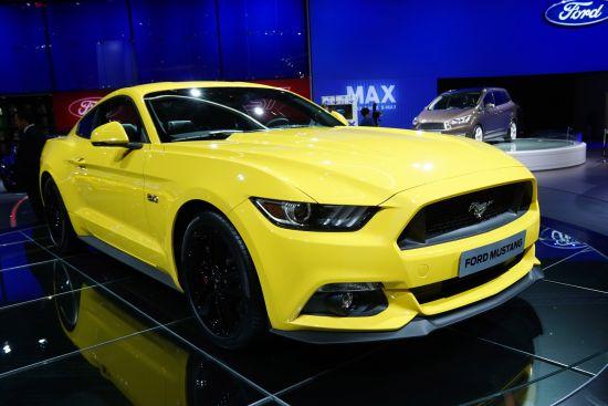 Ford Mustang Paris