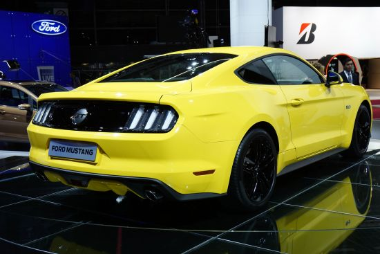 Ford Mustang Paris