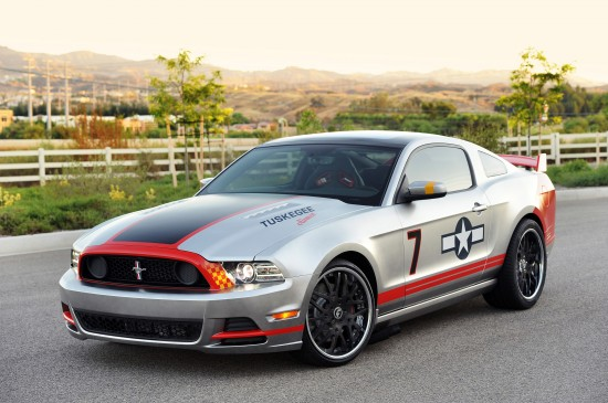 Ford Mustang Red Tails GT Edition