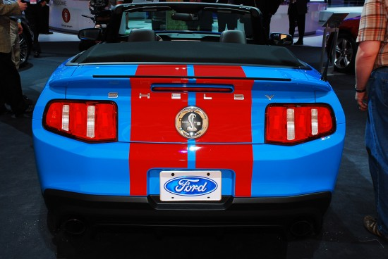 Ford Mustang Shelby GT500 convertible Detroit