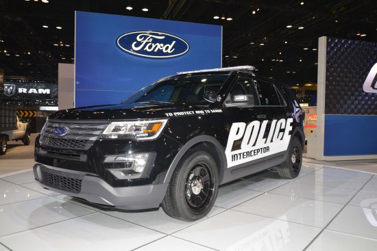 Ford Police Interceptor Utility Chicago