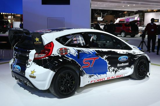 Ford Racing Fiesta ST Chicago