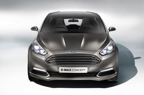 Ford S-MAX Concept предлагает острые дизайн и передовые технологии