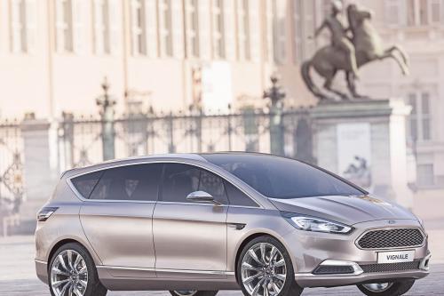 Раскрывает Форд s-Макс в vignale концепции