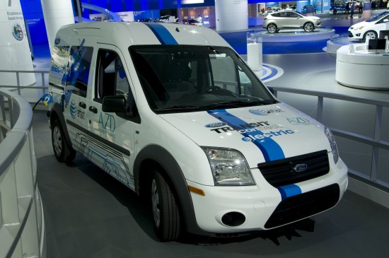 Ford Transit Connect electric Detroit