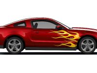 Ford Mustang GT Custom Graphics Styling