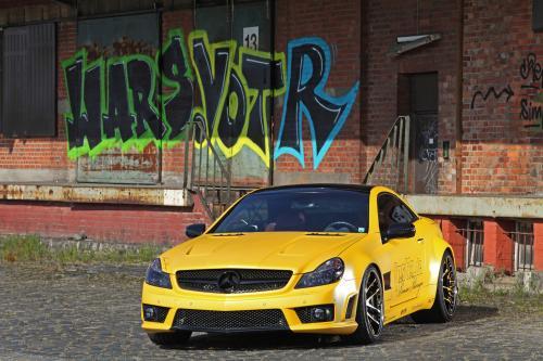Fostla Mercedes-Benz SL 55 AMG Lquid золота с 548 лошадиных сил