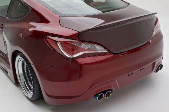 FuelCulture Hyundai Genesis Coupe Turbo Concept