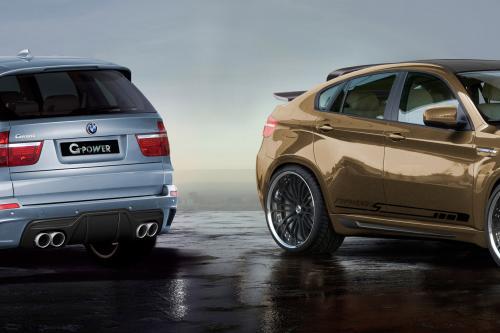 G-POWER. дооснащение BMW X5 M и X6 M