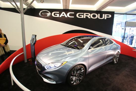 GAC Group Ejet Concept Detroit