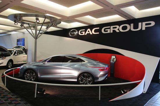 GAC Group Ejet Concept Detroit