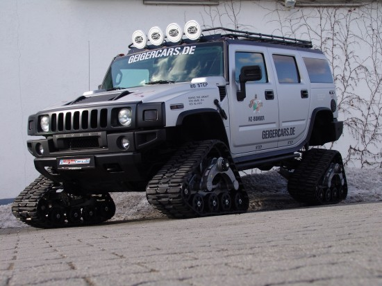 GeigerCars Hummer H2 Bomber