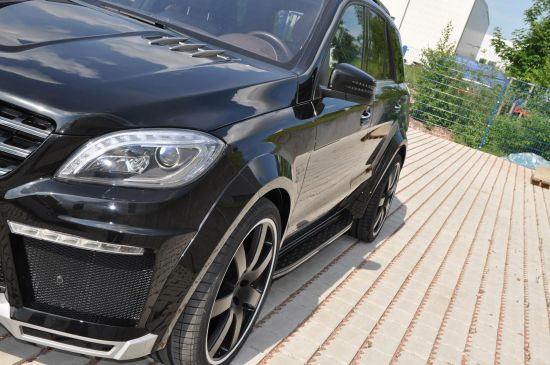 German Special Customs  Mercedes-Benz ML Widebody Kit