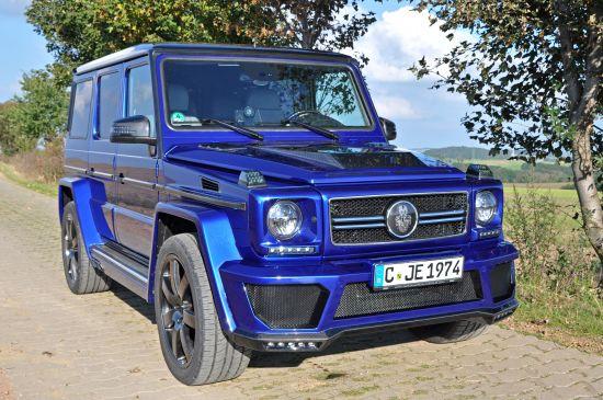German Special Customs Mercedes-Benz G400 CDI