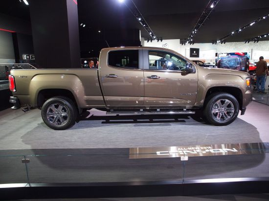 GMC Canyon Detroit