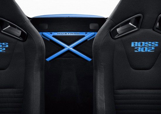 Grabber Blue  Ford Mustang Boss 302 Laguna Seca