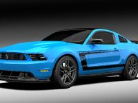 Grabber Blue 2012 Ford Mustang Boss 302 Laguna Seca, 1 of 2