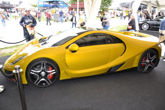 GTA Spano  Goodwood