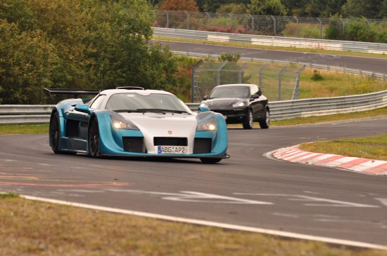 GUMPERT apollo sport new lap record at Nürburgring