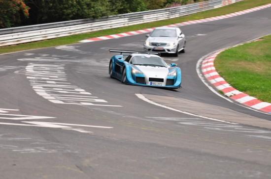 GUMPERT apollo sport new lap record at Nürburgring