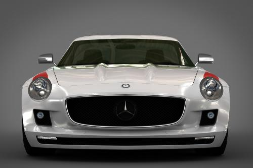 GWA Panamericana styling kit за 2010 Mercedes-Benz SLS