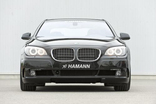 В HAMANN переработки программы для новой BMW 7-серии