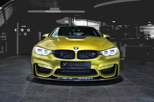 Hamann предлагает новый стайлинг для BMW F82 М4 - фотография hamann