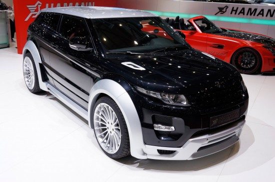 Hamann Range Rover Evoque Geneva