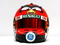 thumbnail image of Heikki Kovalainen Angry Birds Helmet