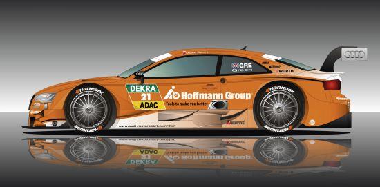 Hoffmann Group Audi RS5 DTM