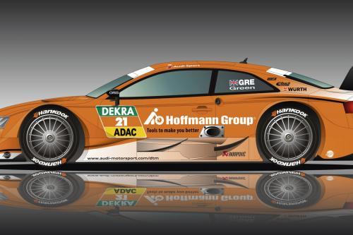 Гофман группы партнеров с Ауди для нового rs5 DTM в ливрее