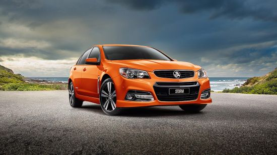 Holden Commodore and Ute Storm Editions