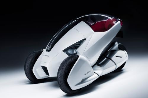 Honda представлена 3R-C исследование проектирования автомобиля